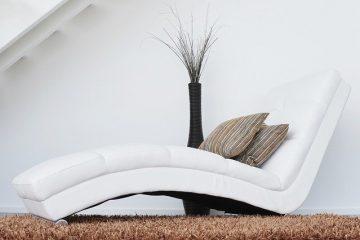 sofa et coussin